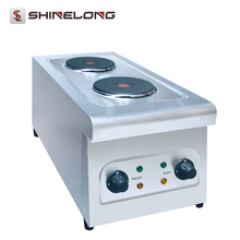 K280 Kitchen Equipment Electric 2 Hot Plate Cooker