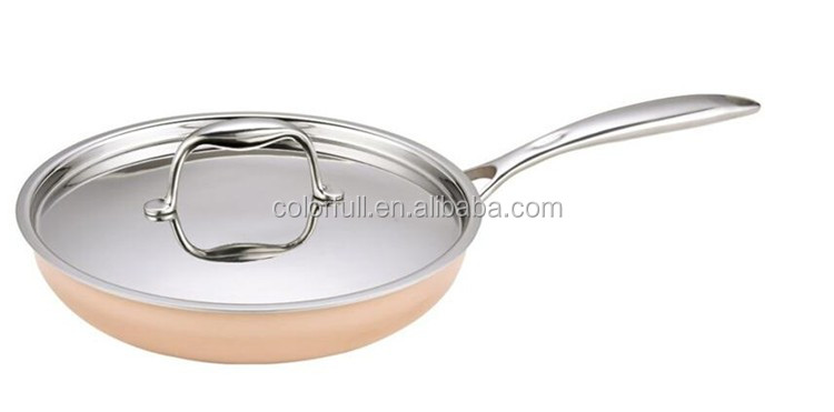 Cookware Aluminum Non-Stick Eco Alloy Ceramic Nonstick Frying Pan For Induction Hob