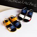 Boy Shoes Kids New Summe Fashion Boys Sandals Stitching Leather Sandals Soft Bottom Sandals kids Children
