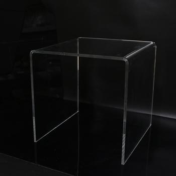 Bespoke Large Coffee Tables Plexiglass Cylinder Table Acrylic PMMA Round  Acrylic Table