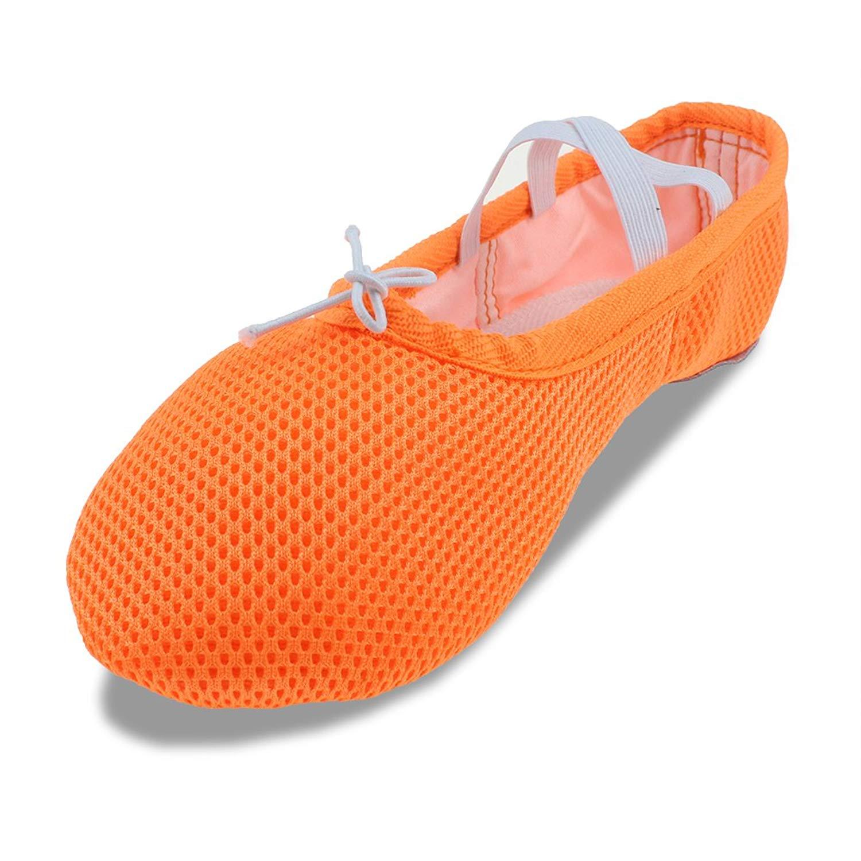 MSMAX Breathable Slip on Slipper Ballet Party Flat (Toddler/Little Kid/Big Kid)