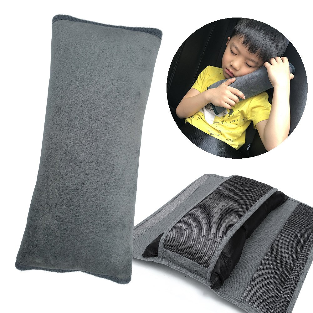 Strong-Willed Childrens Neck Headrest Seat Belt Shoulder Pads Removable Child Car Sleep Pillow Seatbelt Cushion Pad Head Support Choice Materials Mother & Kids