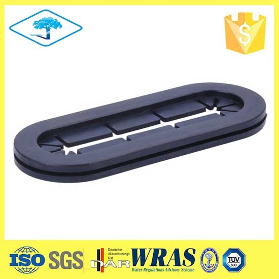 Low price custom seal square rubber grommet