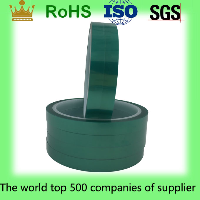 Heat Resistant Green PET insulation tape for electrical and electronic components