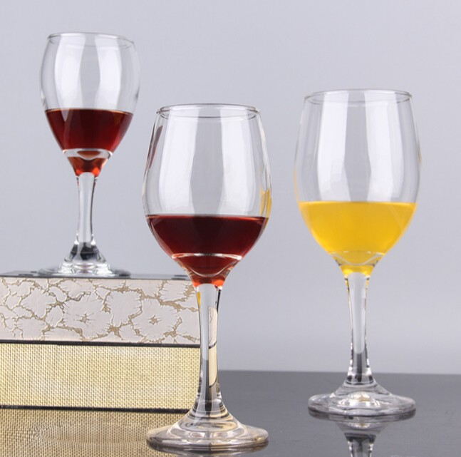 Haonai clear wine goblet crystal wine glass wine glass cup with short stem buy wine goblet - Short stemmed wine glass ...