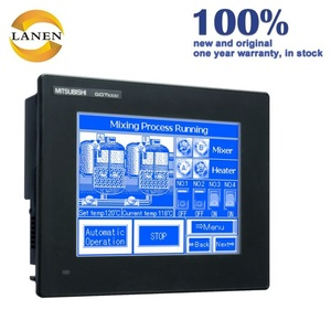China Power supplier Best price Mitsubishi Touch Screen PLC HMI GT1050-QBBD-C for a big sale HMI Touch screen