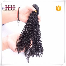 Top quality lowest price wholesale Malaysia kinky curly human hair weave real remy afro kinky hair extensions
