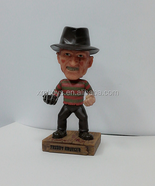 Freddy Krueger - A Nightmare bobble head on ELM Street polyresin