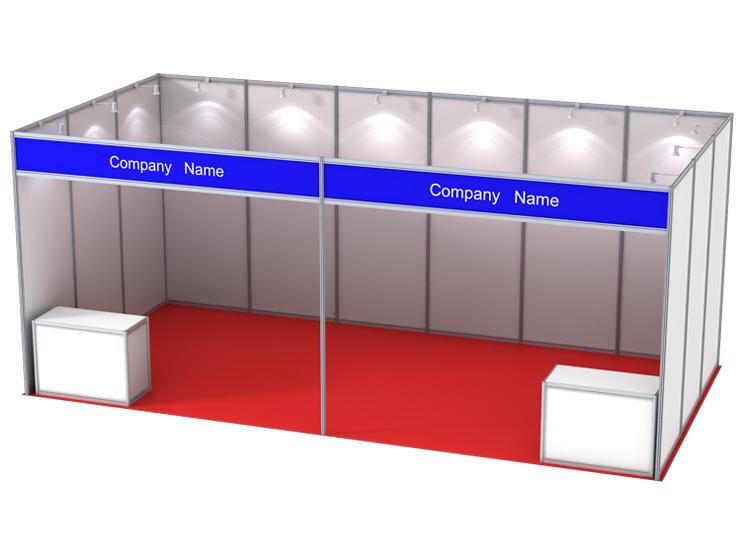 Exhibition Shell Scheme Dimensions : Incase portable standard exhibition stand shell scheme