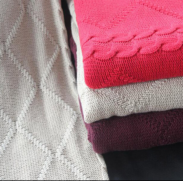Wholesale Chunky Knit Blanket, bedspreads ,hotel bed throws ...