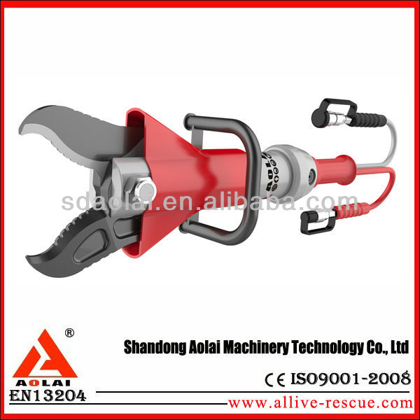Hydraulic cutter, for damaged cars ,plunger cutter