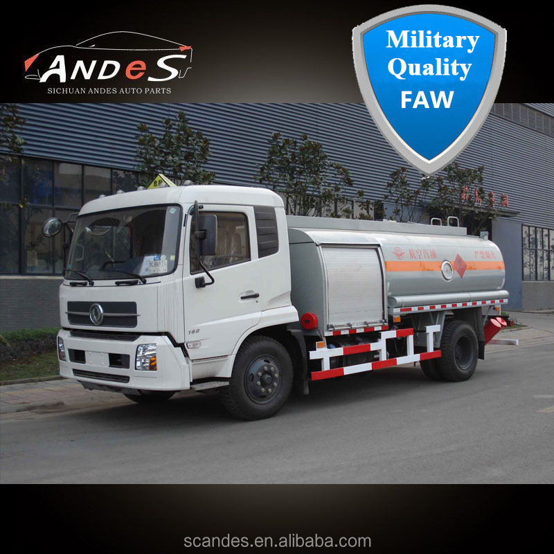 China FAW Diesel Fuel Bowser Hot Sale 8000 L