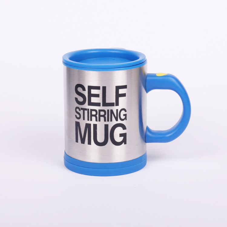 Oempromo Colorful Custom Stainless steel self stirring coffee mug