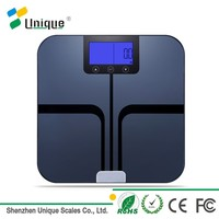 China Professional Factory 180kg Bluetooth API Digital Smart Bathroom Body Weight Fat Composition Analyzer Scale