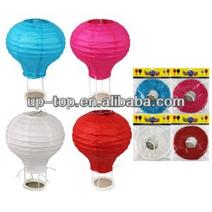 Hot air balloon paper lantern children room decoration birthday party