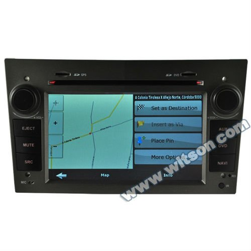 WITSON opel corsa gps dvd with Steering Wheel Control