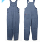 plus size poly cotton overalls work bib pants