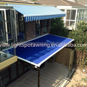LT 910 pergola electric sunroom Automatic alumium terrace roof Awning for sun shade