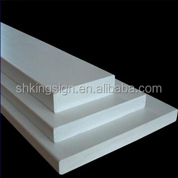 White/black 800kg/m3 high density 0.8 density pvc board/foam sheet