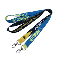 Lanyard Custom Sublimation Printing Polyester Nylon Plain Accessories Phone Case Neck Military Tool Jdm Vape Lanyard
