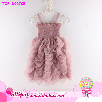 Latest Designs Kids Evening Gowns Russet-red Baby Dress Pictures ...