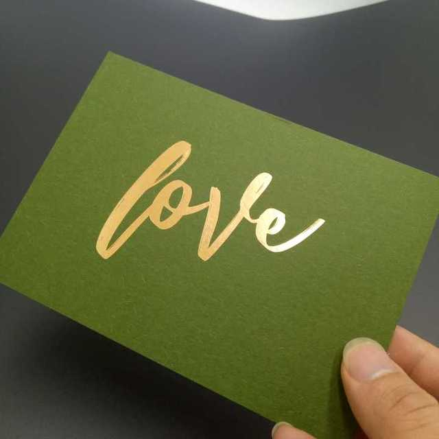 Foil business cards wholesale source quality foil business cards thank you card inviting card custom printing with gold foil colourmoves