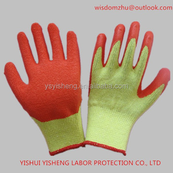 job gloves Hand with