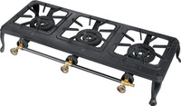 THREE BURNER GAS COOKER/Heavy Duty Cast Iron gas stove/outdoor use