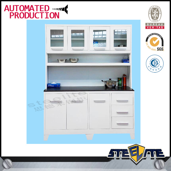 Cheap Kitchen Furniture/stainless Steel Top Kitchen Cabinet/ready ...