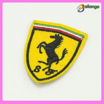 wholesale iron on car logo patch ferrari patch for garment buy
