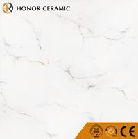 inkjet printing glazed porcelain super white polished tiles