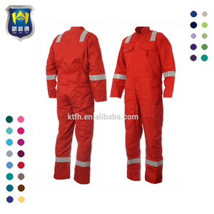 b35f37aa86b9 Adult  Youth Cotton Safety FRC Clothing Protective Flame Resistant Coverall
