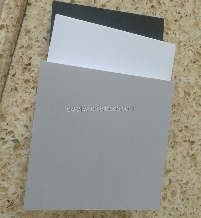 12MM White/Gray/Black PVC Foam Board/Solid PVC Sheet