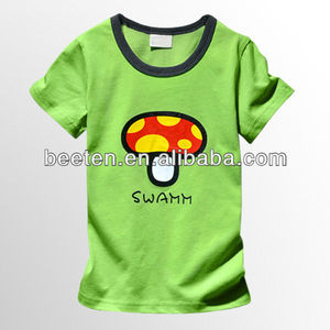 high quality short sleeve boys t-shirt for summer
