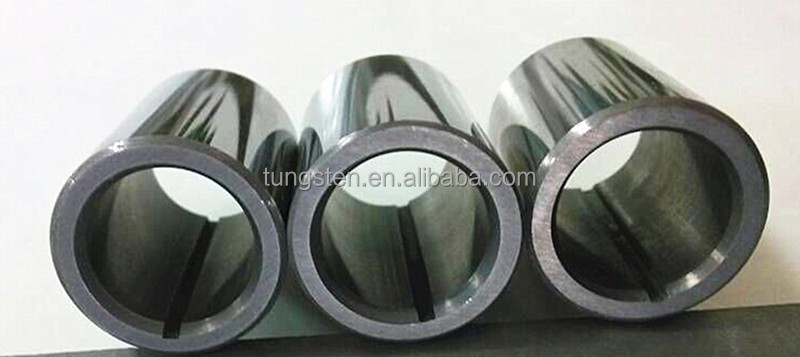 Tungsten carbide bearing sleeve,hard metal bearing bush,split sleeve bearings