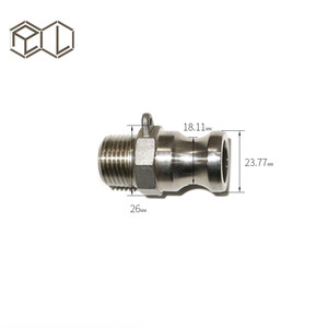"mini Stainless Steel 1/2"" MPT Male Camlock Quick Disconnect Stainless Steel Homebrew Fitting Soda Stream Beer Brewing Equipment"