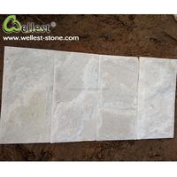 Factory Manufacture Natural White Quartzite Stone Floor Tile