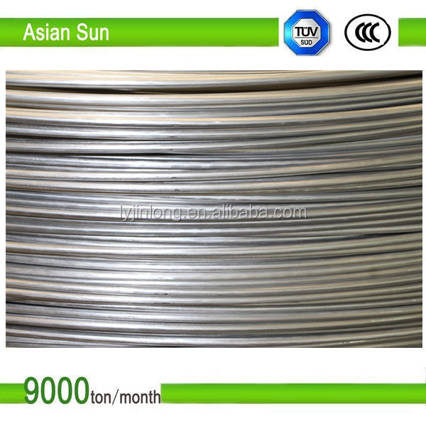 Wow! 1370 temper oxidized 12mm Wire Rod Aluminum with high purity