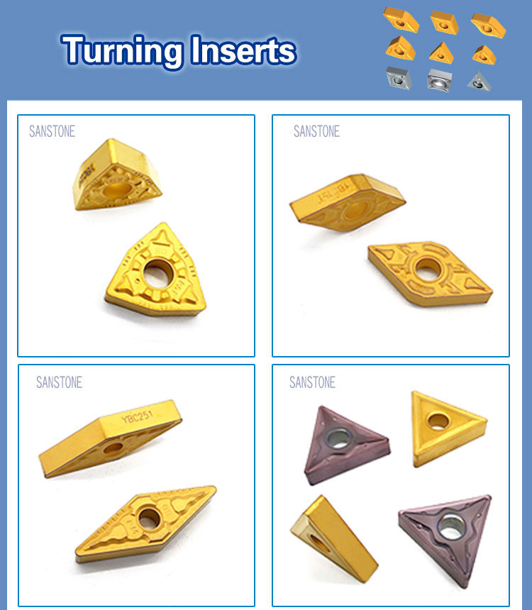 carbide CNC inserts indexable cutting inserts VBMT