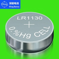 SNeng 1.5V AG10 Alkaline Coin Cell Button Battery DLR1130 SR1130 L1131 LR1130 LR54 389 189-1 389A 390A D189 189 G10 G10A GP89A K
