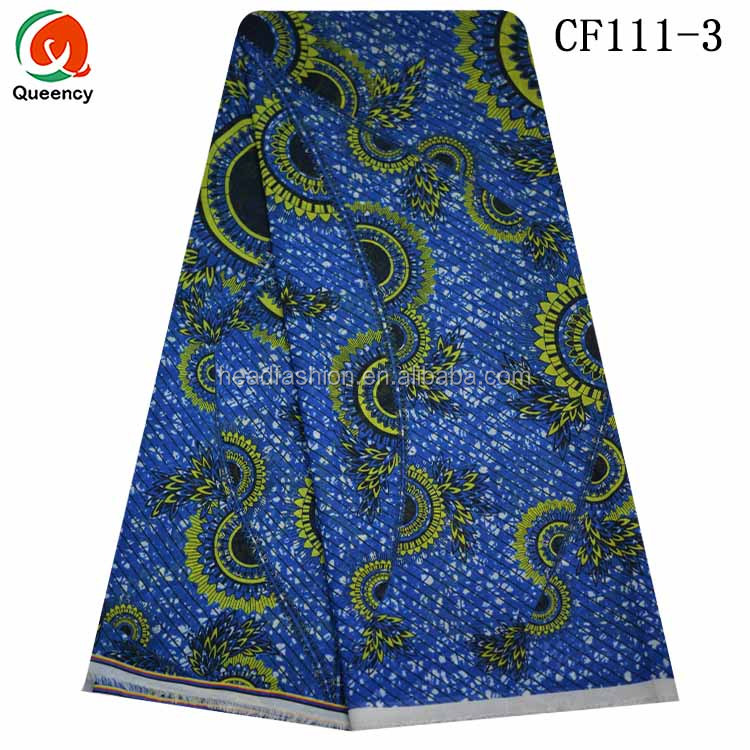 Queency Different Types Of Chiffon Fabric Prints African Evening Party Dress Fabric