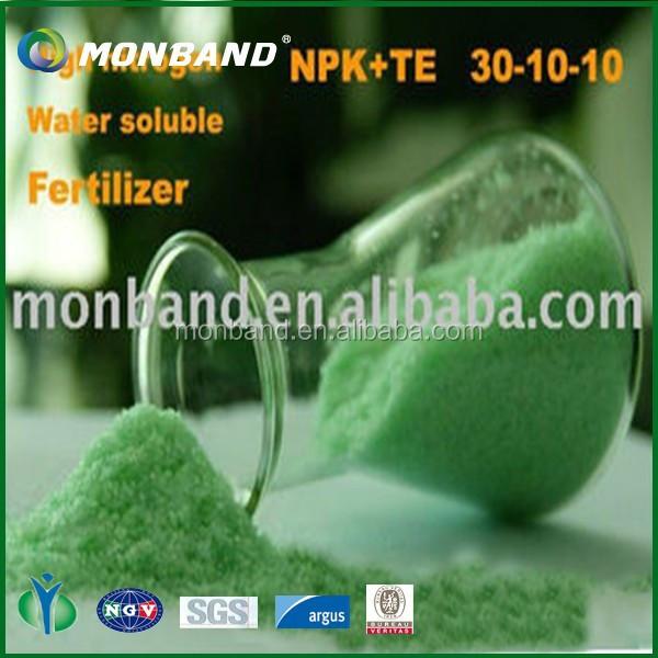 Foliar Fertilizer Compound Fertilizer Npk 30 10 10