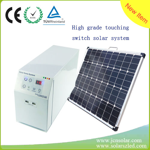 made in China best seller high quality 80w complete solar system for home