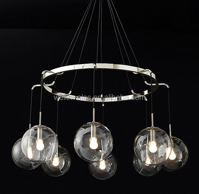 luces de techo modernas de vidrio mini lmpara colgante lmpara colgante