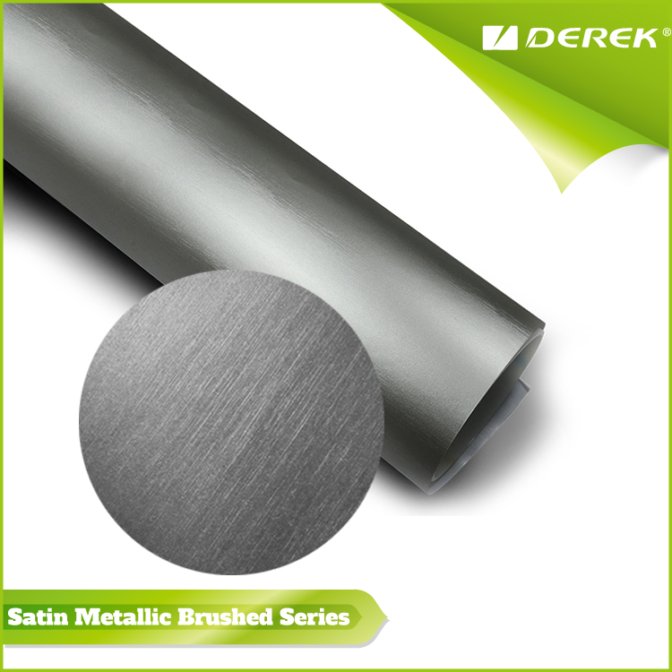 Hot Selling Matte Metallic Brushed car vinyl wrap rust for Car Wrapping