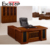 Factory wholesale price office furniture wooden L shape executive office table design