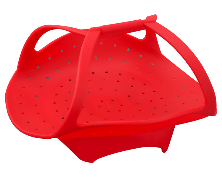 High Quality Silicone Vegetable Basket Microwave Safe Silicone Steamer