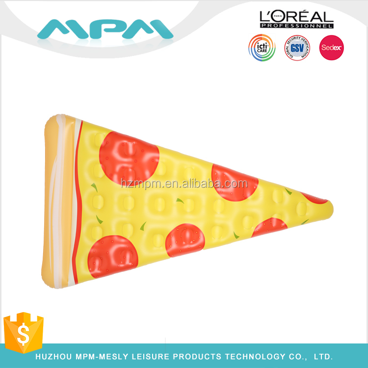 Giant Inflatable Pizza Pool Float high quality PVC pool floats inflatable