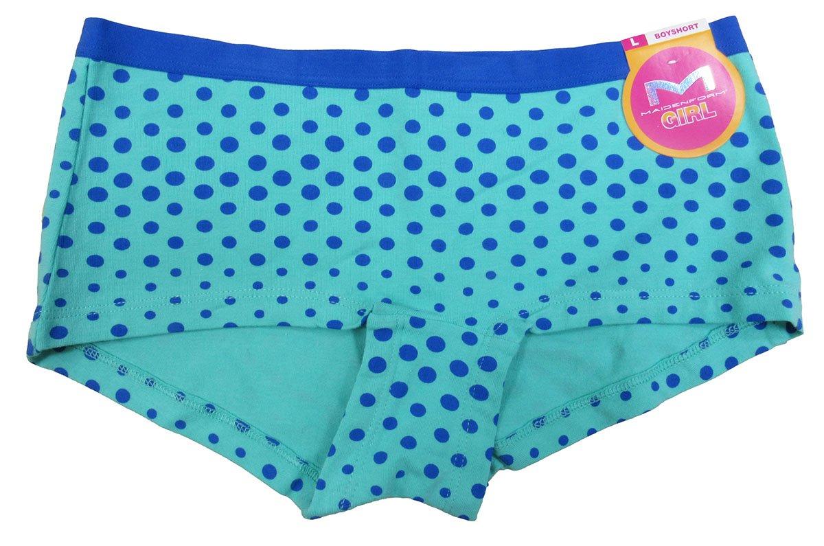 5542dc3648b2c Get Quotations · Maidenform Girls  or Little Girls  Boyshort Underwear