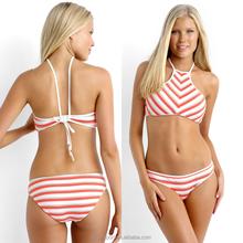 183657d2ee2d16 Promotioneel Hoge Hals Bikini Top, Koop Hoge Hals Bikini Top ...